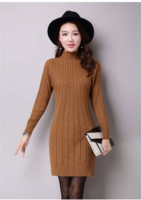 how to sweater turtle neck sweater dress winter styling ideas designers