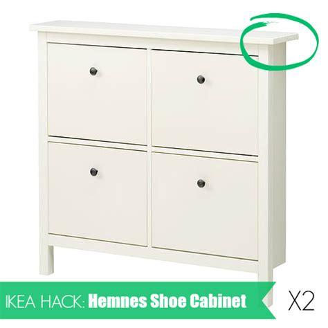 Ikea Hemnes Bathroom Cabinet Hack by Ikea Hack Hemnes Shoe Cabinet 187 Http Ohmygee Ca