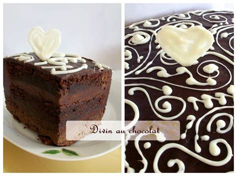 decoration moelleux au chocolat decorer un gateau au chocolat