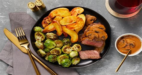 Montreal steak seasoning for steak by mccormick). Beef Tenderloin with Mushroom Sauce Recipe | HelloFresh