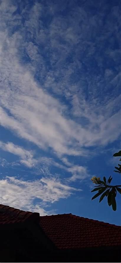 Langit Siang Hari Aesthetic Disimpan Dari