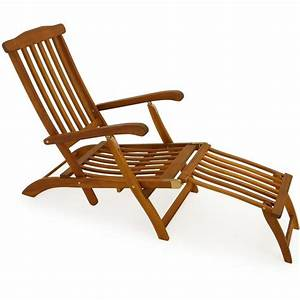 Chaise Jardin Bois : chaises longues bain de soleil en bois africa 5433670 jardin piscine ~ Teatrodelosmanantiales.com Idées de Décoration