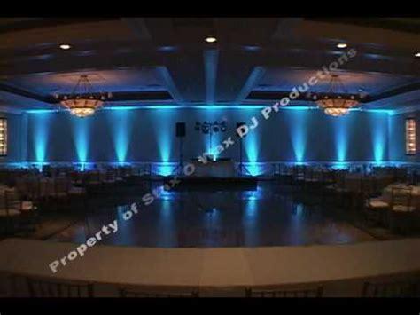 led decor lighting uplighting for chicago area weddings