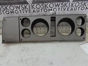 Car Parts  S10 Dash Bezel Speedometer Instrument Cluster