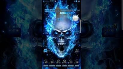 Toxic Skull Samsung Theme