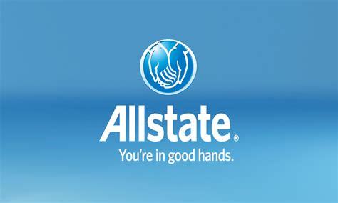 Blue Allstate Business Card