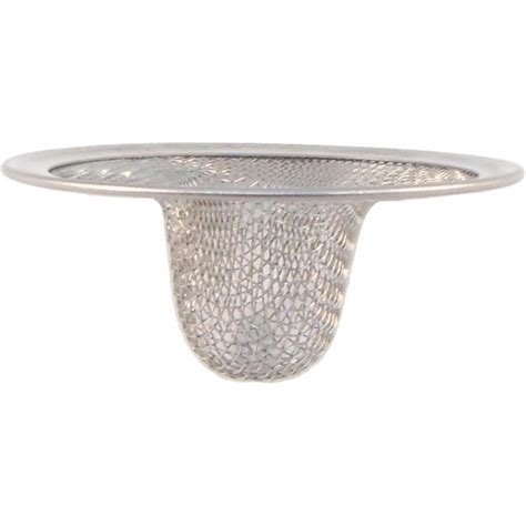Mesh Sink Strainer Home Depot by Partsmasterpro 2 1 2 In Small Lavatory Mesh Sink Strainer