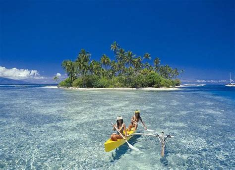 Visitor For Travel French Polynesia Tahiti Island