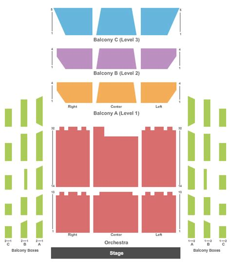 orchestra hall seating chart minneapolis