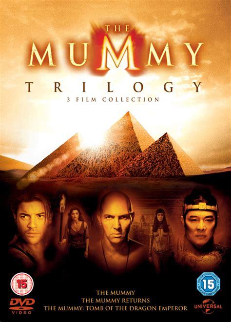 mummy trilogy includes ultraviolet copy dvd zavvi