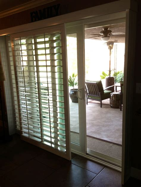 Door Window Coverings by The 25 Best Blinds For Sliding Doors Ideas On