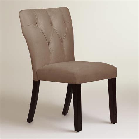 velvet tufted gabie upholstered dining chair world market