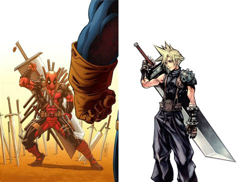 [cover] Deadpool Steals Cloud's Final Fantasy Vii Buster