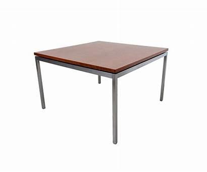Mid Century Table Coffee Walnut Modern Chrome