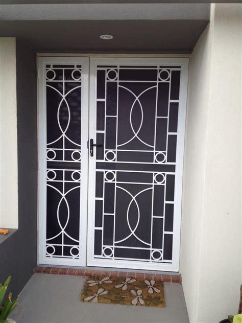 security doors  blinds