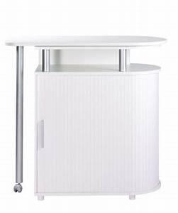 Mange Debout Avec Rangement : meuble bar mange debout nantes blanc blanc tables but ~ Teatrodelosmanantiales.com Idées de Décoration