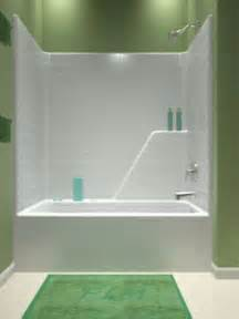 One Piece Tub Shower Combination
