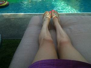 Legs By The Pool Free Stock Photo