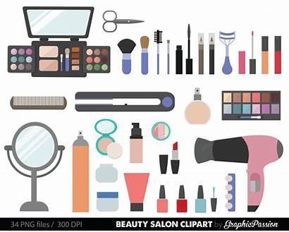 Clipart Clip Cosmetics Girly Cosmetic Cliparts Clipground