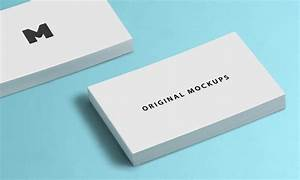 60 best free high quality psd business card mockups With free business card mockups