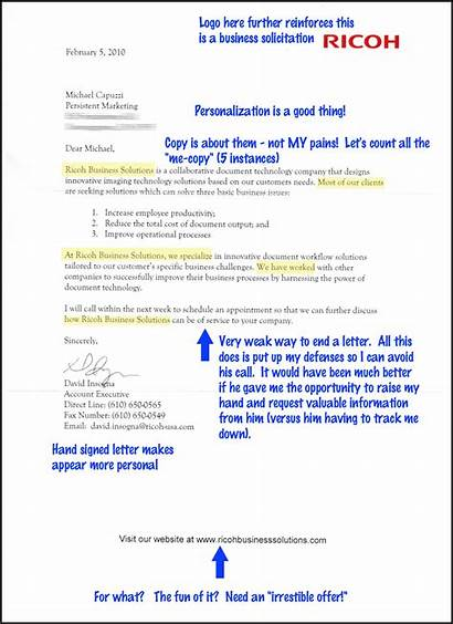 Letter Mail Direct Example Marketing Advertisement Examples