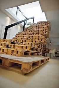 Móveis e decoração de paletes de madeira - um show de