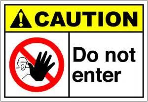 Do Not Enter Sign Clip Art