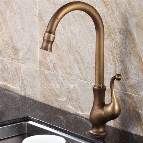 best kitchen sink faucets best antique brass rotate kitchen sink faucets