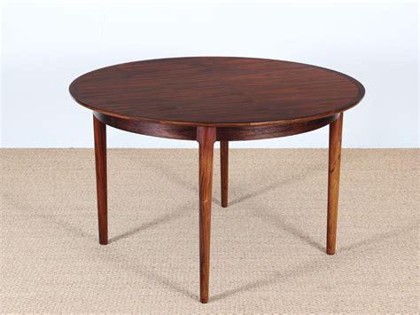 mid century modern danish extendable  dining table