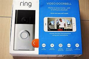 New Ring Wifi Enabled Smart Phone Video Security Camera