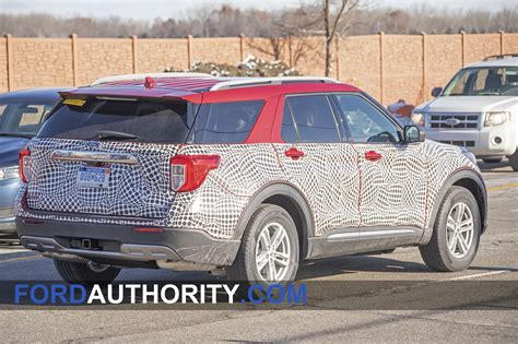 ford explorer interior revealed   spy pictures
