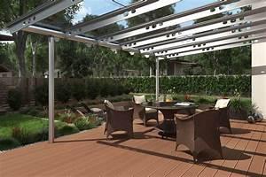 Sonnensegel Unter Glasdach : der moderne sonnenschutz auf der terrasse livvi de ~ Markanthonyermac.com Haus und Dekorationen