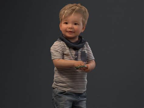 00022pepijn006 Cute Toddler Boy 3d Model Cgtrader