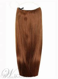 Brown Halo Hair Extensions