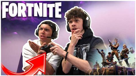 play split screen  fortnite battle royale youtube