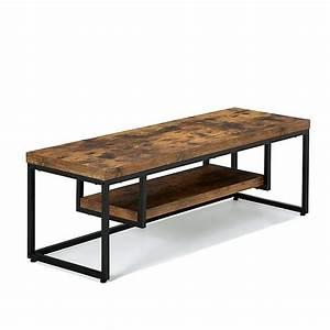 Table Alinea Bois : meuble tv et table basse alinea maison et ~ Teatrodelosmanantiales.com Idées de Décoration