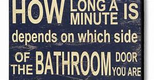 Isn't the bathroom a great place to escape to after a long ...