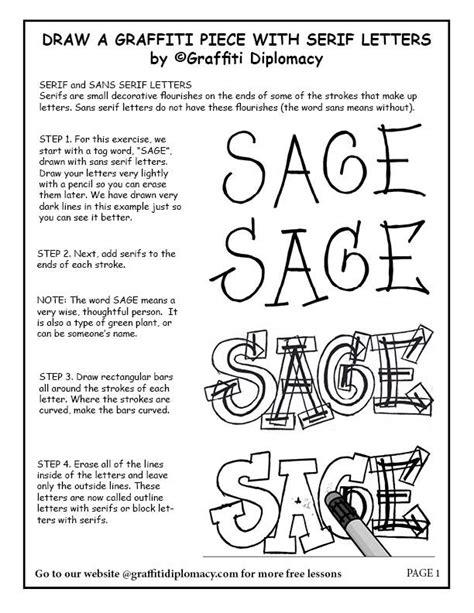 draw  graffiti   serif letters   graffiti