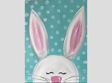 Family Night White Bunny Art Studio 27 Sip and Paint