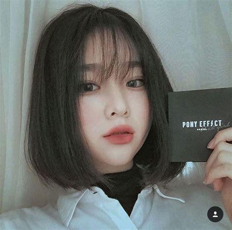 inspirations  short korean hairstyles  girls