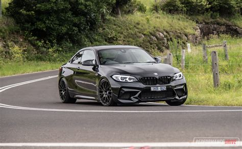 black bmw m2 competition 2019 bmw m2 competition review video performancedrive