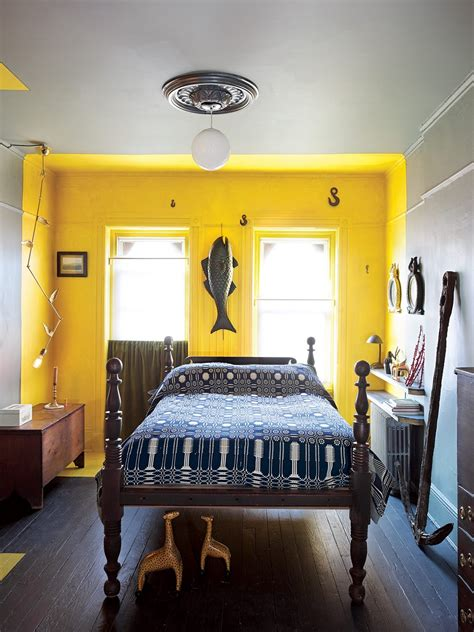 Bedroom Yellow Colour
