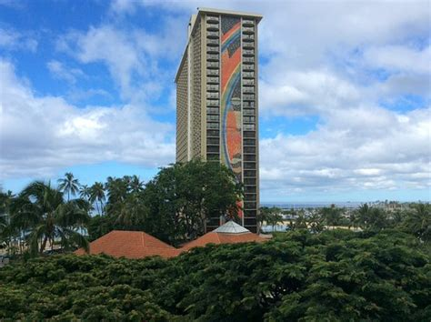 Tapa Tower suite view  Picture of Hilton Hawaiian Village