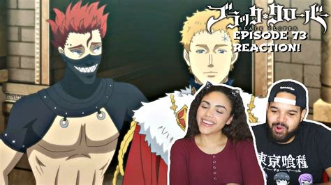 xerx lugner black clover episode  reaction youtube