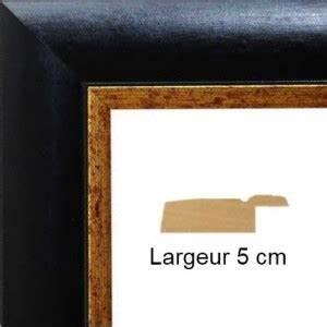Cadre 40 X 60 : encadrement bois noir mat bord dor avec verre et dos prix discount sur cadre ~ Teatrodelosmanantiales.com Idées de Décoration