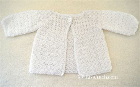 Easy Baby Cardigan Crochet Patterns