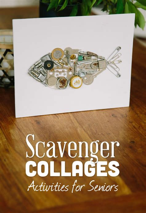scavenger collages