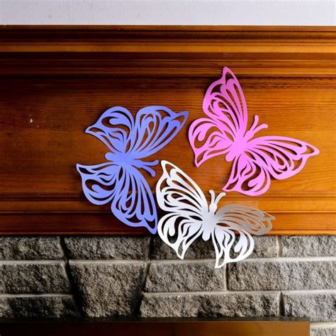 Shop for butterfly wall decor online at target. Giant Paper Butterfly, Butterfly Wall Decor, Butterfly ...