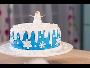 Gateau Anniversaire Reine Des Neiges : g teau frozen g teau de la reine des neiges youtube ~ Melissatoandfro.com Idées de Décoration