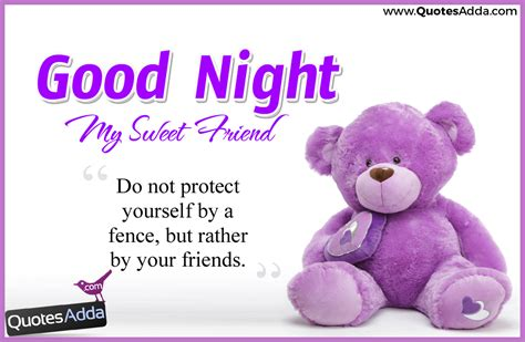 Nice Good Night Quotes For Best Friends